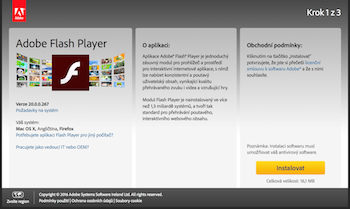 Adobe Flash Player - screenshot