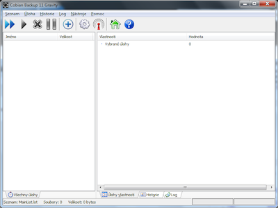 Cobian Backup - screenshot