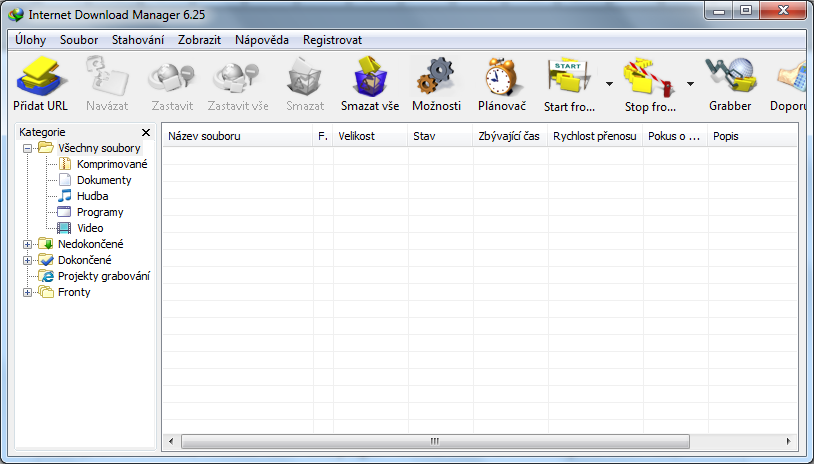 Internet Download Manager - screenshot