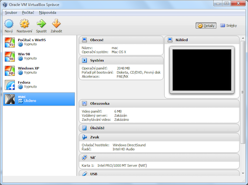 Oracle VM VirutalBox - screenshot