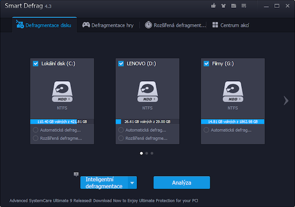 Smart Defrag - screenshot